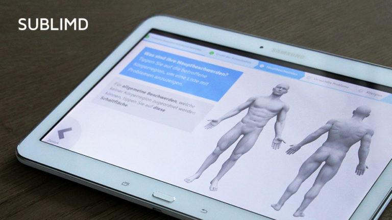 sublimd – die universell einsetzbare Software für Digital Health Anwendungen