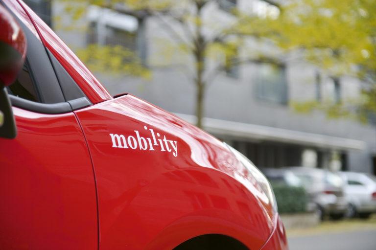 Mobility stellt komplett auf Elektroautos um und wird klimaneutral