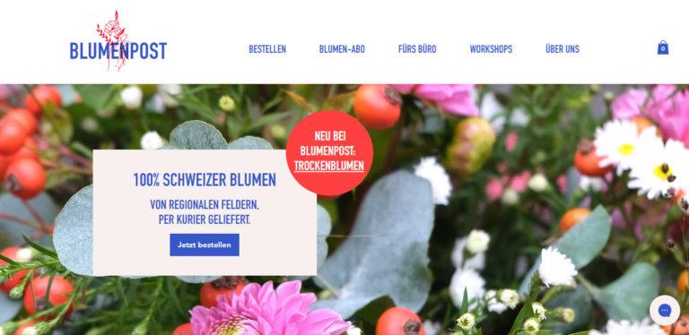 Blumenpost – die online Blumensträusse