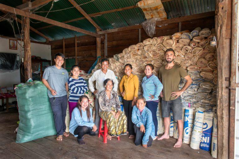 Elephbo – nachhaltige Fashion Produkte mit recyceltem Zementsack aus Kambodscha