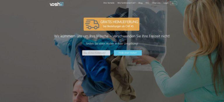 Vosh – die Online-Wäscherei